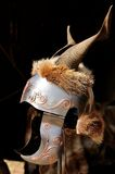Celtic helmet Stock Images