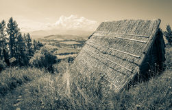 Celtic hill fort at Havranok - Slovakia Royalty Free Stock Photo