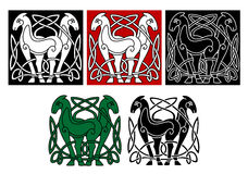 Celtic horses Royalty Free Stock Photography