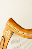 Celtic instrument Royalty Free Stock Photography