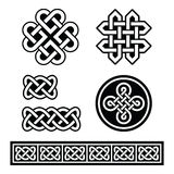 Celtic Irish patterns and braids -  Stock Image