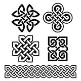 Celtic Irish patterns and braids -  Stock Images