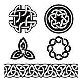 Celtic Irish patterns and knots - , St Patrick's Day Stock Image