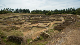 Celtic Iron Age Hill Fort, Castro de Viladonga, Galicia, Spain Royalty Free Stock Image