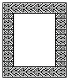 Celtic Key Pattern - frame, border Royalty Free Stock Image