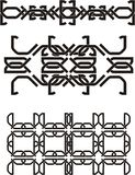 Celtic knot. Elements for design walpapers, ornaments, or something else Royalty Free Stock Photos