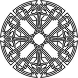 Celtic knot #25. Vector image of celtic knot Royalty Free Stock Image