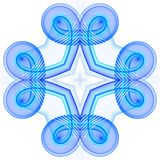 Celtic knot. Abstract fractal image resembling a celtic knot Stock Photos