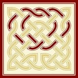 A celtic knot. Vector illustraion of an interwoven Celtic knot Stock Images