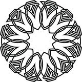 Celtic knot #69. Vector image of celtic knot Vector Illustration