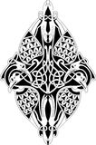 Celtic knot. Ornament on the white background Royalty Free Stock Photo