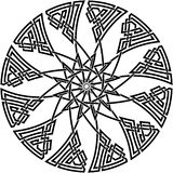 Celtic knot. Vector image of celtic knot Royalty Free Stock Image