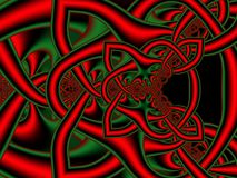 Celtic knot background. Stock Images