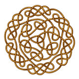 Celtic Knot. Big celtic knot, celtic ornament, vector illustration stock illustration