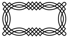Celtic Knot Border Stock Images