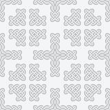 Celtic knot cross seamless vector Stock Photography