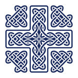 Celtic knot cross vector Royalty Free Stock Photo