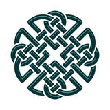 Celtic Knot. Celtic Dara knot, symbol of strength. isolated on white vector illustration
