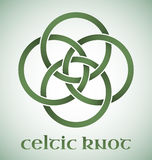 Celtic knot with gradients Royalty Free Stock Photo