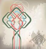 Celtic_knot_grunge Obraz Royalty Free