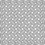 Celtic Knot Illustration. Black and White Celtic Knot Patterned background Royalty Free Stock Images