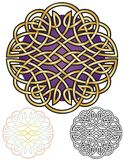 Celtic Knot Mandala Royalty Free Stock Image