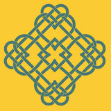 Celtic Knot Motif Royalty Free Stock Images