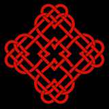 Celtic Knot Motif Royalty Free Stock Photography