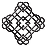Celtic Knot Motif. Vector Illustration of Celtic Knot Motif Royalty Free Stock Image