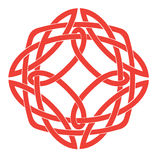 Celtic Knot Motif Stock Photography