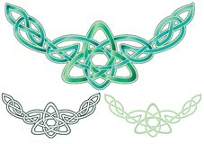 Celtic Knot ornament Stock Image