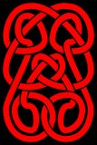 Celtic knot panel Stock Photos