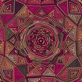 Celtic knot pattern card, mandala, amulet Royalty Free Stock Photos