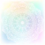 Celtic knot pattern card, mandala, amulet Stock Image