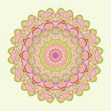 Celtic knot pattern card, mandala, amulet Stock Photography