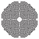 Celtic knot pattern card, mandala, amulet Royalty Free Stock Images