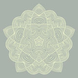 Celtic knot pattern card, mandala, amulet Stock Photo