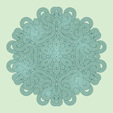 Celtic knot pattern card, mandala, amulet Royalty Free Stock Photo