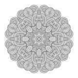 Celtic knot pattern card, mandala, amulet Stock Images