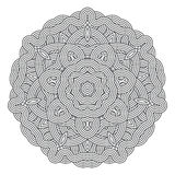 Celtic knot pattern card, mandala, amulet Royalty Free Stock Photo