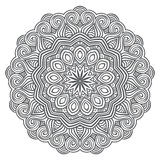 Celtic knot pattern card, mandala, amulet Royalty Free Stock Image