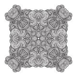 Celtic knot pattern card, mandala, amulet Stock Photo
