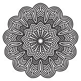 Celtic knot pattern card, mandala, amulet Royalty Free Stock Photography
