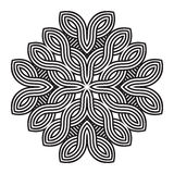 Celtic knot pattern card, mandala, amulet Royalty Free Stock Photos
