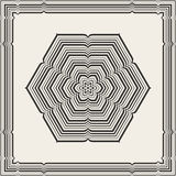 Celtic knot pattern card, mandala, amulet Royalty Free Stock Images