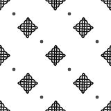 Celtic knot seamless pattern Stock Images
