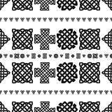 Celtic knot seamless pattern Royalty Free Stock Photography
