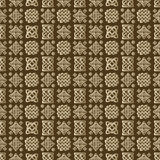 Celtic knot seamless pattern Royalty Free Stock Images