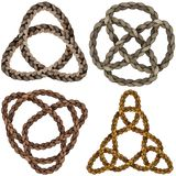 Celtic knot set. EPS10 vector graphics Royalty Free Stock Image