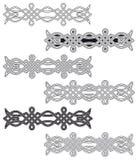 Celtic knot. Six different arrangements Stock Photography